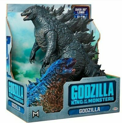 """Jakks Godzilla King Of The Monsters 20"""" Long Articulated Movie Figure IN STOCK"""