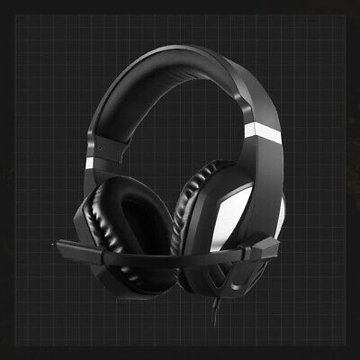 3.5mm Stereo Gaming Headset MIC LED Headphones For PC/PS4/Xbox One/Switch
