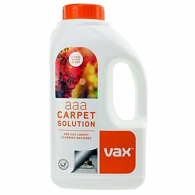 Vax AAA Carpet Upholstery Improved Formula Cleaning Solution Shampoo 750ML Flora