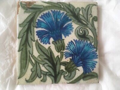 Superb William De Morgan Merton abbey tile