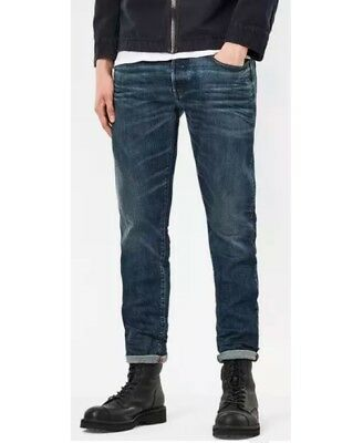 NEW G-STAR RAW 3301 DECONSTRUCTED SKINNY JEANS D01159-6550-071 MEN SZ 30 x 30