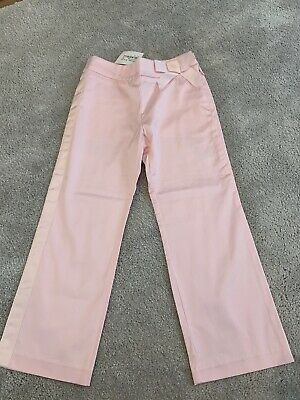NEW Girls Dior Pale Pink Trousers - Age 6