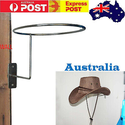 Cowboy Hat Rack Hat Saver Equestrian Hanger Holder Hook Riding Helmet Wall Mount