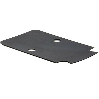 Trijicon Rmr Mount Sealing Stainless Steel Black Plate, US made Rm63
