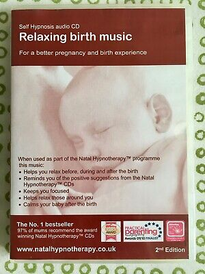 Relaxing Birth Music -better pregnancy & birth experience Self Hypnosis Audio CD