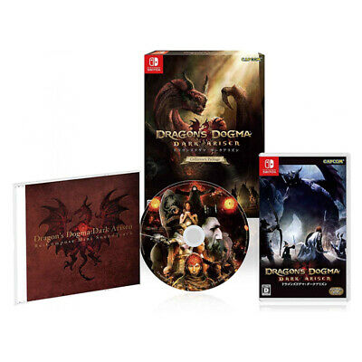 Dragon's Dogma Dark Arisen Collector's Package Nintendo Switch Factory Sealed