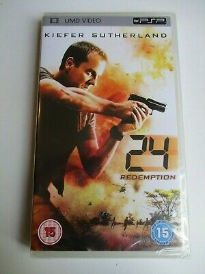 24 Redemption Sony PSP UMD Video NEW & SEALED FREE UK POSTAGE