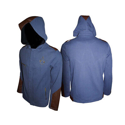 Assassin's Creed Unity: Blue (Giacca Felpata Unisex Tg. L)