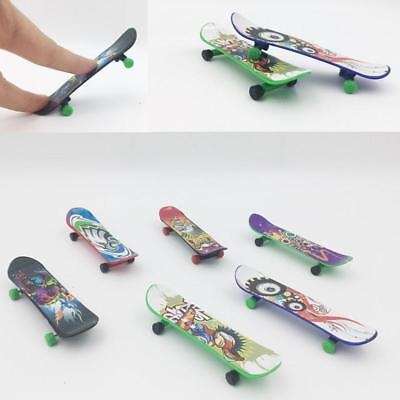 LED Finger Board Mini Colorful Skateboard Deck Boy Kids Children Toy Gifts EBL