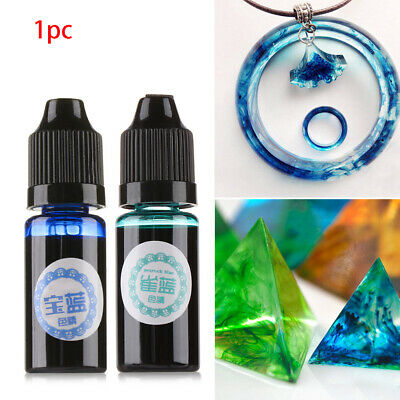 Art Crafts Multicolor Crystal Epoxy Coloring Dye Oily Colorant Resin Pigment