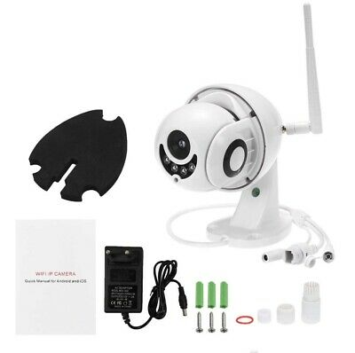 Wireless WiFi 1080P IP Camera IR Optical Zoom PTZ Waterproof Dome Outdoor 128GB