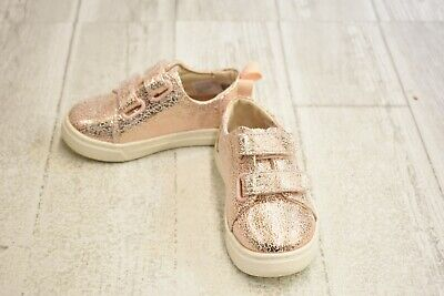3bc1aeb7b652d **TOMS KIDS LENNY Crackle Foil Sneakers, Toddler Girl's Size 6, Rose Gold