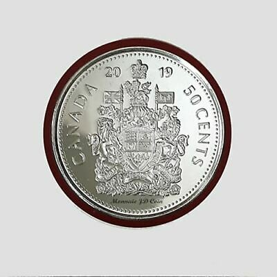 2019 Canada 50 Cent Brilliant Uncirculated Nickel Coin MS-63