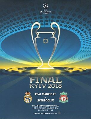 2018 Champions League Final Real Madrid v Liverpool