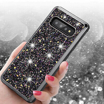 For Samsung Galaxy S10 Plus S10e Note 9 S8 Rugged Protective Hybrid Case Cover