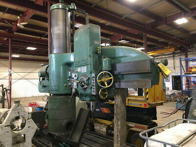 6ft Arm 3in Capacity Carlton Radial Arm Drill