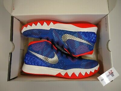 huge discount 64a00 750a0 NIKE KYRIE 1 Independence Day DS New Size 12 705277-401 + Receipt