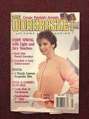 Vintage The Workbasket Lot of 4 1989-1991