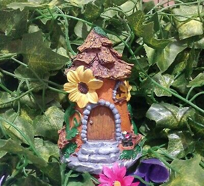 Miniature Dollhouse FAIRY GARDEN Woodcutters Fairy Cottage Accessories