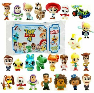Disney TOY STORY 4 MINIS Series 1 & 2 & 3 Blind Bag Mystery Figures 2019 Pixar