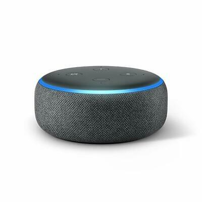 Amazon Echo Dot 3rd Generation w/ Alexa Voice Media Device - Charcoal BRAND NEW!