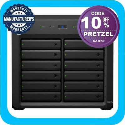 Synology DiskStation DS3617xs 12 Bay Diskless NAS Xeon D-1527 Quad Core 16GB RAM