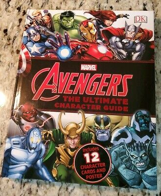 Marvel Avengers Ultimate Character Guide Over 225 Super Heroes Villains Cards