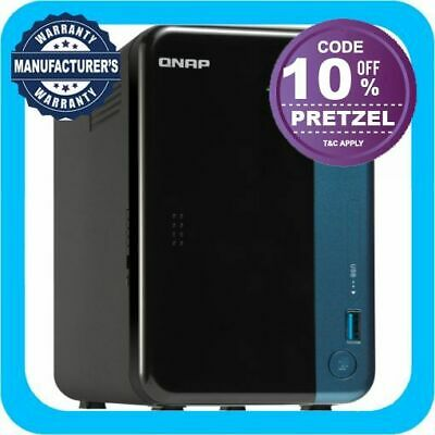 QNAP TS-253Be-2G 2 Bay Diskless NAS Intel Celeron Quad Core 1.5GHz CPU 2GB RAM