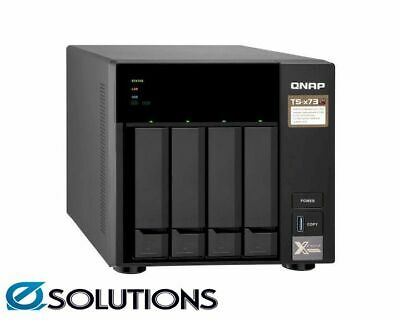 QNAP TS-473-4G 4 Bay Diskless NAS AMD RX-421ND Quad Core 2.1GHz CPU 4GB RAM