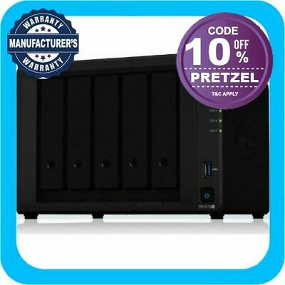 "Synology DiskStation DS1019+ 5-Bay 3.5"" Diskless 4xGbE NAS (Tower)"