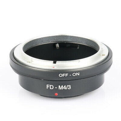 FD-M4/3 Lens Adapter for Canon FD Mount to Micro Four Thirds M4/3 MFT Camera Gh