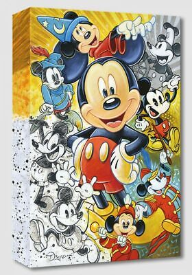 "Disney Fine Art ""90 Years of Mickey Mouse""  18 X 12 