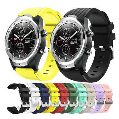 Replacement Rugged Silicon Sport Wrist Watch Band Strap For TicWatch Pro S2 E2