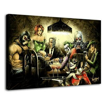 "20""x30""Clown suicide squad HD Canvas prints Painting Home decor Picture Wall art"