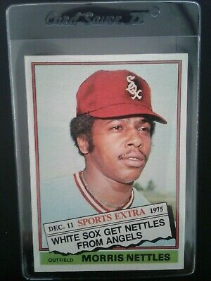 1976 Topps Traded Baseball #434T Morris Nettles NM/MT Chicago White Sox Outfield