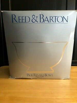 Reed & Barton #106 Paul Revere Silver Plated Bowl, 10-Inch - New - Free Shipping