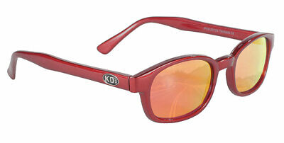 KD/'s Samcro Flame Clear Glasses KD Motorcycle Sons of Anarchy W Pouch 3015