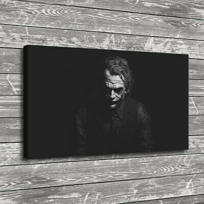 "12""x20""Lonely clown photo HD Canvas print Painting Home Decor Picture  Wall art"