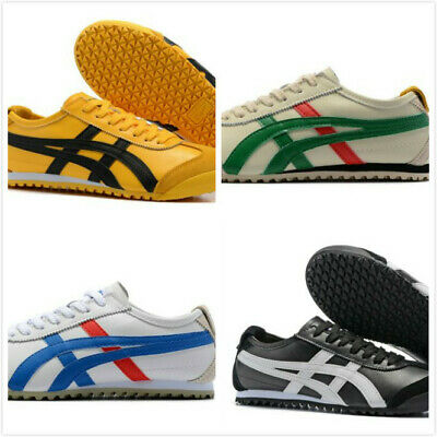 Mens Leather ASICS Womens Onitsuka Tiger Sneakers Lazy Casual Shoes YY256
