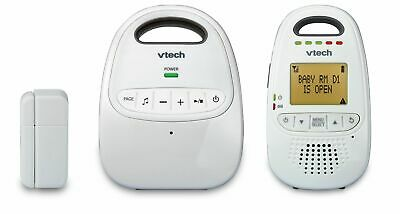VTech Safe&Sound® DM251-102 DECT 6.0 Digital Audio Baby Monitor with Open/Closed