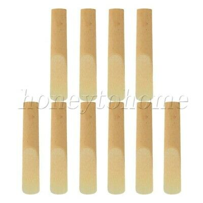 10pcs 2.5 Strength Bamboo Reeds Clarinet Reeds Music Instrument Part