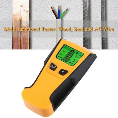 3 In 1 Floureon Detector Stud Center Finder Wire Live Metal LCD Wall And Scanner