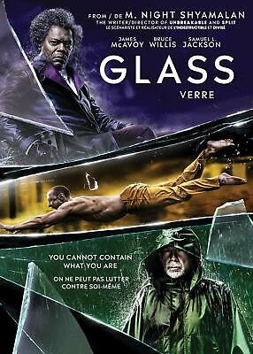 Glass (DVD, 2019) Bilingual
