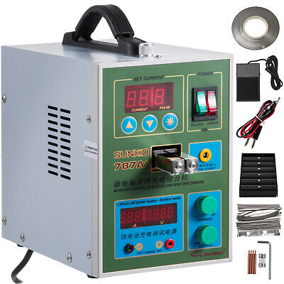 787A+ Pulse Spot Welder for 18650 & Battery Pack Charger 1Kg Nickel Strip 500A