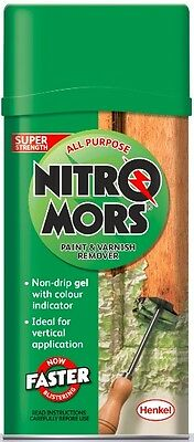 NitroMors All Purpose Paint and Varnish Remover 750ml Double Strength Formula