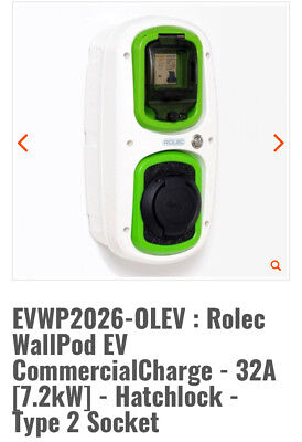 Rolec Evwp2026/Olev Electric Car Charging Unit.