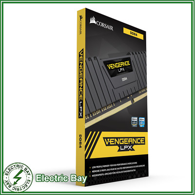 Corsair Vengeance LPX 32GB 2X16GB DDR4 3200MHz C16 Gaming Desktop RAM Memory Kit