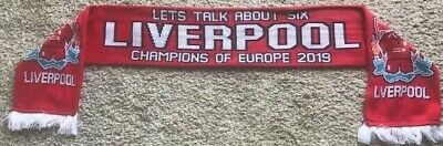 Liverpool Champions League 2019 Winners Scarf