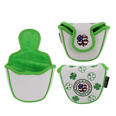 MALLET PUTTER HEADCOVER - Lucky Clover Replacement Putter