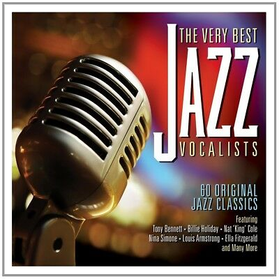 Very Best Of Jazz Vocalist 3 Cd New Box-Set Billie Holiday/Ray Charles
